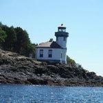 Lighthouse on kayak trip