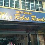 Mee Rebus Ramli, Tasek, Perak