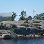 Home on rock island