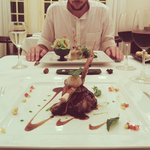 Muscovy duck with 5 flavors and a coffee sauce