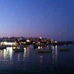 Harbor front at Antiparos