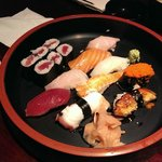 Sushi deluxe ($20)