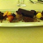 Oda ao chocolate - wonderful dessert, large enough to share