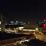 四階からハドソン川沿いの眺め