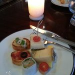 Club Lounge evening canapes