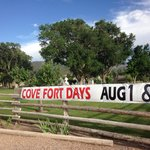 Cove Fort - July 2014