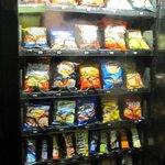 Máquina expendedora de snaks