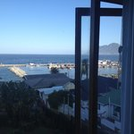 Late afternoon view of Kalk Bay Harbour from the room