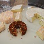 チーズが大好きなので、毎朝たくさんいただきました~