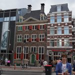 Rembrandt Huis and museum entrance