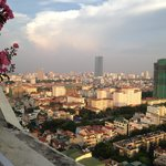 Views of Hanoi city from 21 st floor