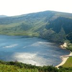 Lough Tay view from The Old Military Road