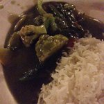 Not green curry at Amoy