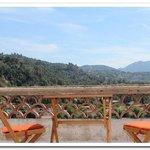 terrasse chambre la Gallina