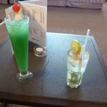 Un petit cocktail: miam !