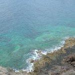 Une vue de la mer