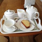 Our tea tray upon arrival - we felt very welcome!