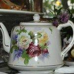 Over 30 varieties of teas at Kurrara