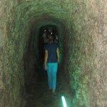 В тунеле