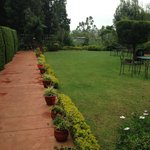 Lawn outside the Rooms