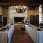 Mise en scène d'un banquet