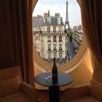 Eiffel Tower Suite View
