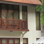 Balcony of 1st floor rooms