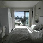 Main bedroom in morning
