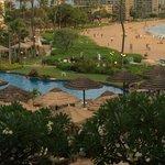 Pool/ Beach area