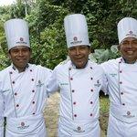 The wonderful chefs