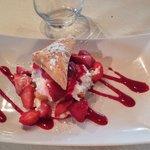 Mille-feuille aux fraises