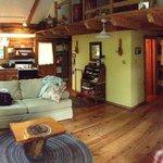Inside the Dogwood Cabin