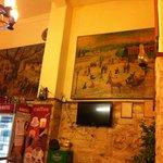 at Petros restaurant