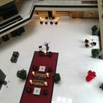 The lobby - view from the 6th floor