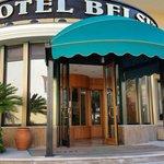 Hotel entrance!