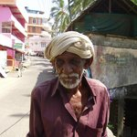 One of the many interesting faces I met in Kovalam