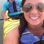 Sea kayaking with the dolphins