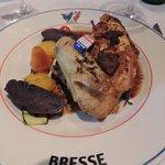 poulet de bresse aux truffes