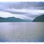 A view of Loch Ness from the Jacobite Warrior.