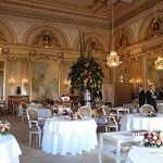 Inside the beautiful Louis XV of the Hotel de Paris