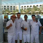 Brilliant pool bar staff