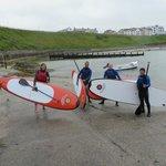 Paddleboarding in Portballintrae