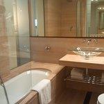bagno stanza hilton firenze