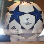 The ball from Gareth Bale's demolishing of Inter Milan, 3-1 in the Champions League