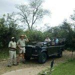 Op Safari met Tracker Casual en Ranger Dyon (april 2014)
