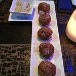 donuts with tiramisu dip...yumm