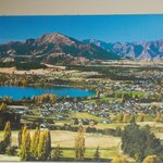 Wanaka Lake and townsite