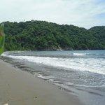 Beach at Curú Bay.