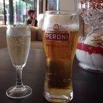 Peroni & Prosecco all part of the All Inclusive deal.