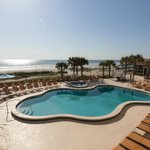 Our Jacksonville Beach hotel's Outdoor Pool